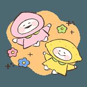 สติ๊กเกอร์ไลน์ fruits chan