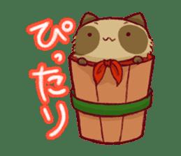 Traveler of Raccoon dog sticker #5431351