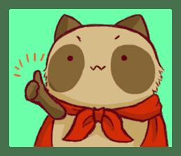 Traveler of Raccoon dog sticker #5431356