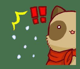 Traveler of Raccoon dog sticker #5431366