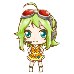 GUMI STICKER