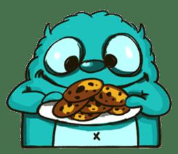 Monster of Cookie ! sticker #5433383
