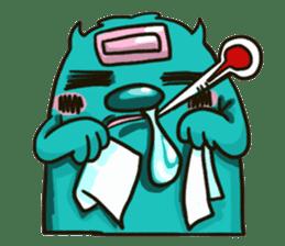Monster of Cookie ! sticker #5433398