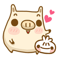 CoCo pig & Baby buns