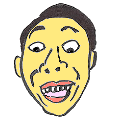 Brother Face Sticker