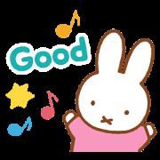 สติ๊กเกอร์ไลน์ Miffy's Animated Pastel Stickers