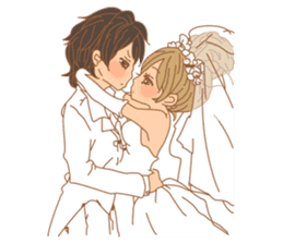 Girls Couple in Love sticker #5448689