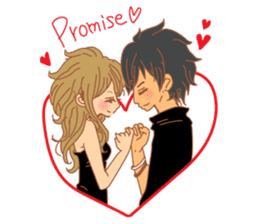 Girls Couple in Love sticker #5448694