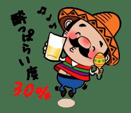 el borracho people sticker #5458781