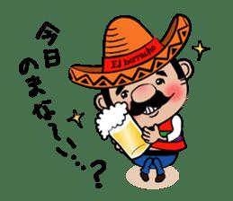 el borracho people sticker #5458788