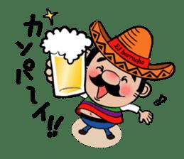 el borracho people sticker #5458796