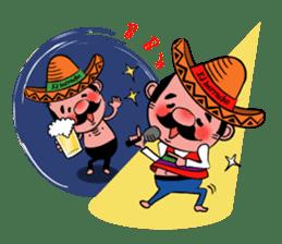 el borracho people sticker #5458797