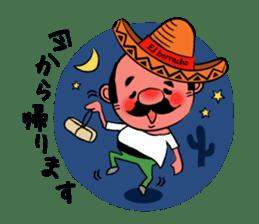 el borracho people sticker #5458804