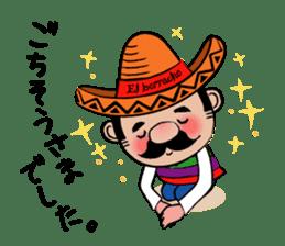 el borracho people sticker #5458811