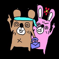 Rabbit&bear2