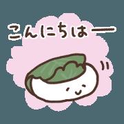 สติ๊กเกอร์ไลน์ Honwaka Japanese Sweets