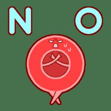 Mr. Red Blood Cell sticker #5470343