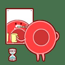 Mr. Red Blood Cell sticker #5470348