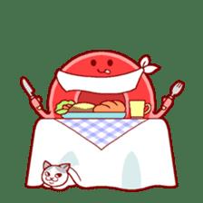 Mr. Red Blood Cell sticker #5470349