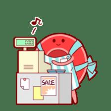 Mr. Red Blood Cell sticker #5470355