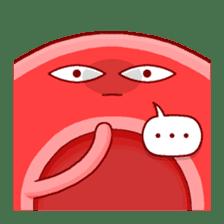 Mr. Red Blood Cell sticker #5470365