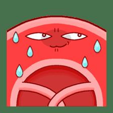 Mr. Red Blood Cell sticker #5470366