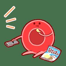Mr. Red Blood Cell sticker #5470368
