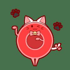 Mr. Red Blood Cell sticker #5470373