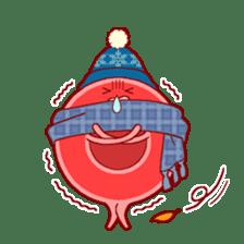 Mr. Red Blood Cell sticker #5470375