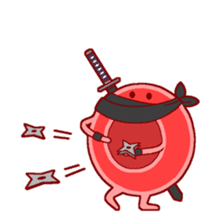 Mr. Red Blood Cell sticker #5470377