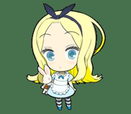 Official Sticker of okama's Alice Series sticker #5475900
