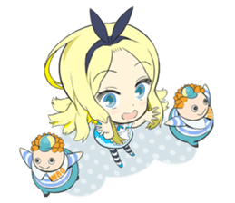 Official Sticker of okama's Alice Series sticker #5475901
