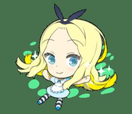 Official Sticker of okama's Alice Series sticker #5475905