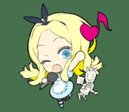 Official Sticker of okama's Alice Series sticker #5475906
