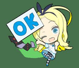 Official Sticker of okama's Alice Series sticker #5475909