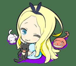 Official Sticker of okama's Alice Series sticker #5475912