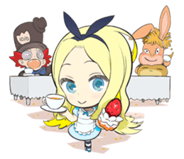Official Sticker of okama's Alice Series sticker #5475917