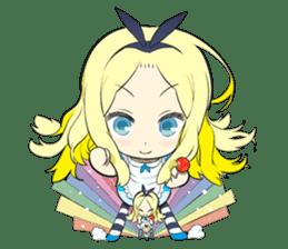 Official Sticker of okama's Alice Series sticker #5475926