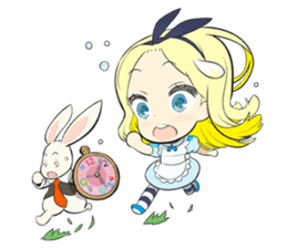 Official Sticker of okama's Alice Series sticker #5475932