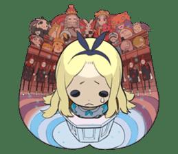 Official Sticker of okama's Alice Series sticker #5475934