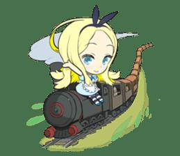 Official Sticker of okama's Alice Series sticker #5475936