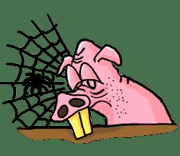 Bapet The Pig sticker #5493336