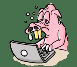 Bapet The Pig sticker #5493338