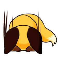 SANUKI FOX sticker #5500589