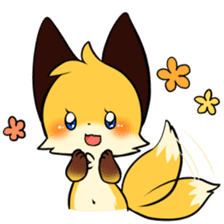 SANUKI FOX sticker #5500602