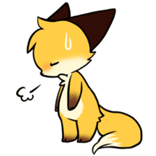 SANUKI FOX sticker #5500613