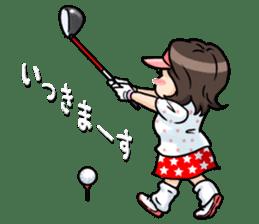 Golf OL SUNSUN sticker #5508487