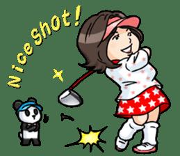 Golf OL SUNSUN sticker #5508488