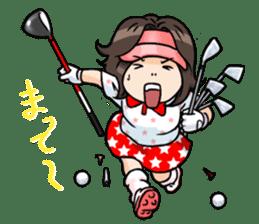 Golf OL SUNSUN sticker #5508490
