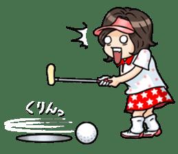 Golf OL SUNSUN sticker #5508492
